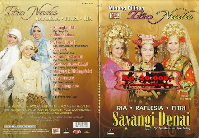Trio Nada - Sayangi Denai (Album Minang Pilihan)