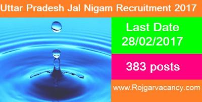 383-routine-clerk-stenographer-uttar-UPJN-Recruitment-2017