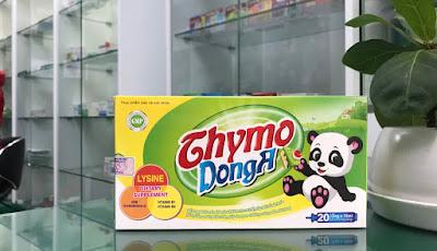Thymo DongA, tăng cường sức đề kháng