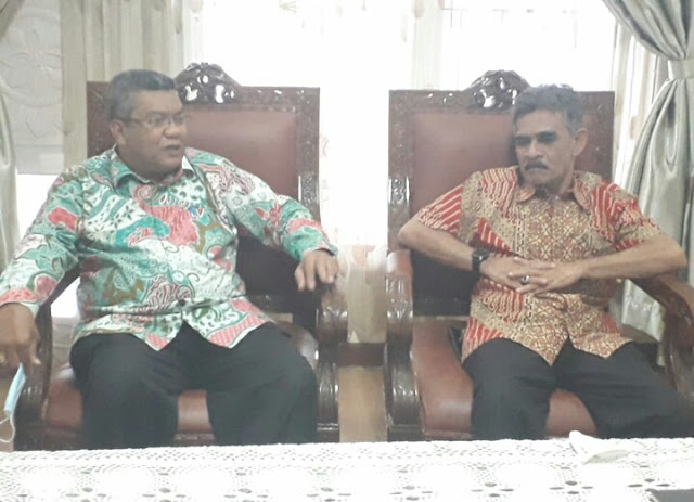 Bertemu Dengan Cek Mad, Ini Saran Kepala Ombudsman Aceh