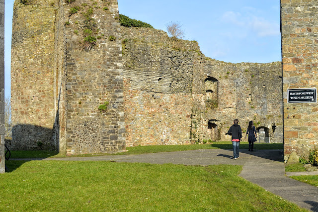 Haverfordwest Castle Pembrokeshire Family Days Out