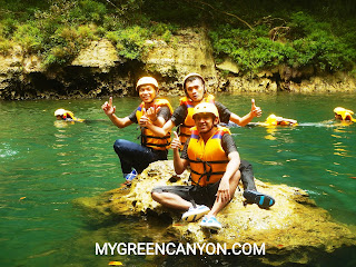 Body Rafting Green Canyon Di Bulan Ramadhan
