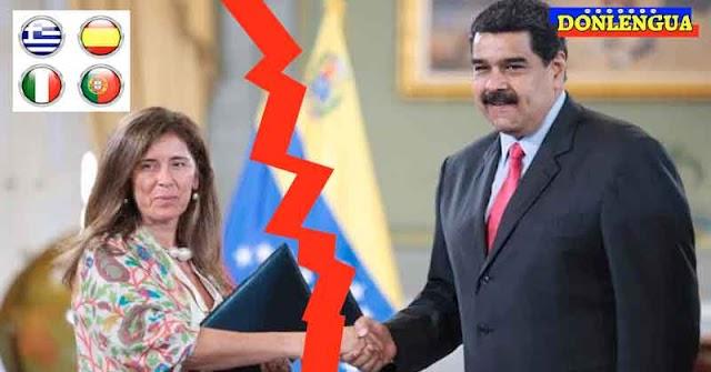 Régimen podría expulsar a todos los europeos que viven en Venezuela para quedarse con sus propiedades