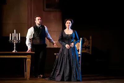 Verdi: La forza del destino - Brian Jagde, Elena Stikhina - Opera National de Paris (Photo Julien Benhamou / OnP)
