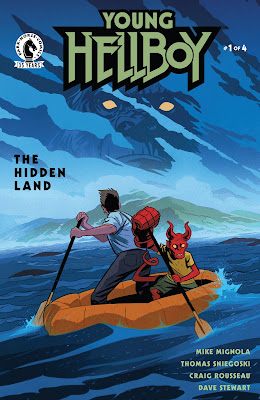 Dark Horse Comics YOUNG HELLBOY THE HIDDEN LAND comic book series 1
