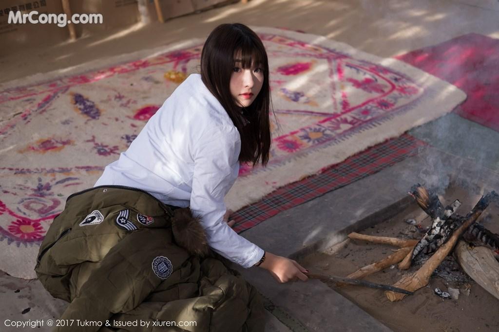 Image Tukmo-Vol.103-Qiu-Qiu-MrCong.com-006 in post Tukmo Vol.103: Người mẫu Qiu Qiu (球球) (43 ảnh)