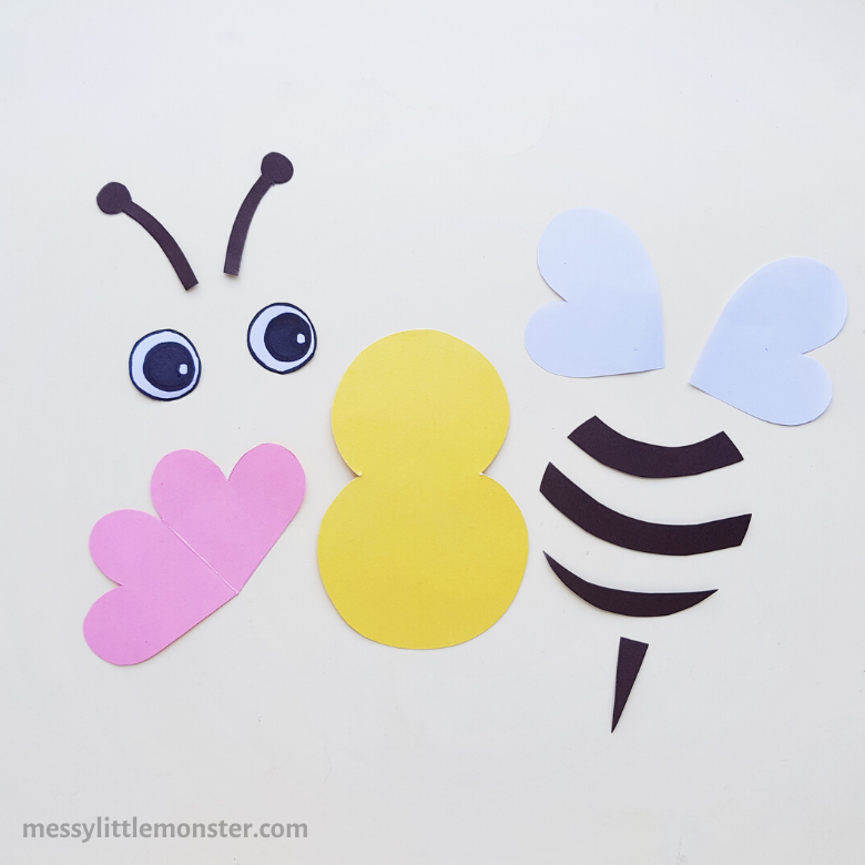 printable bee template