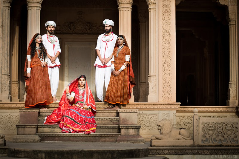 Campaign Shoot of Rajasthan Style Fest