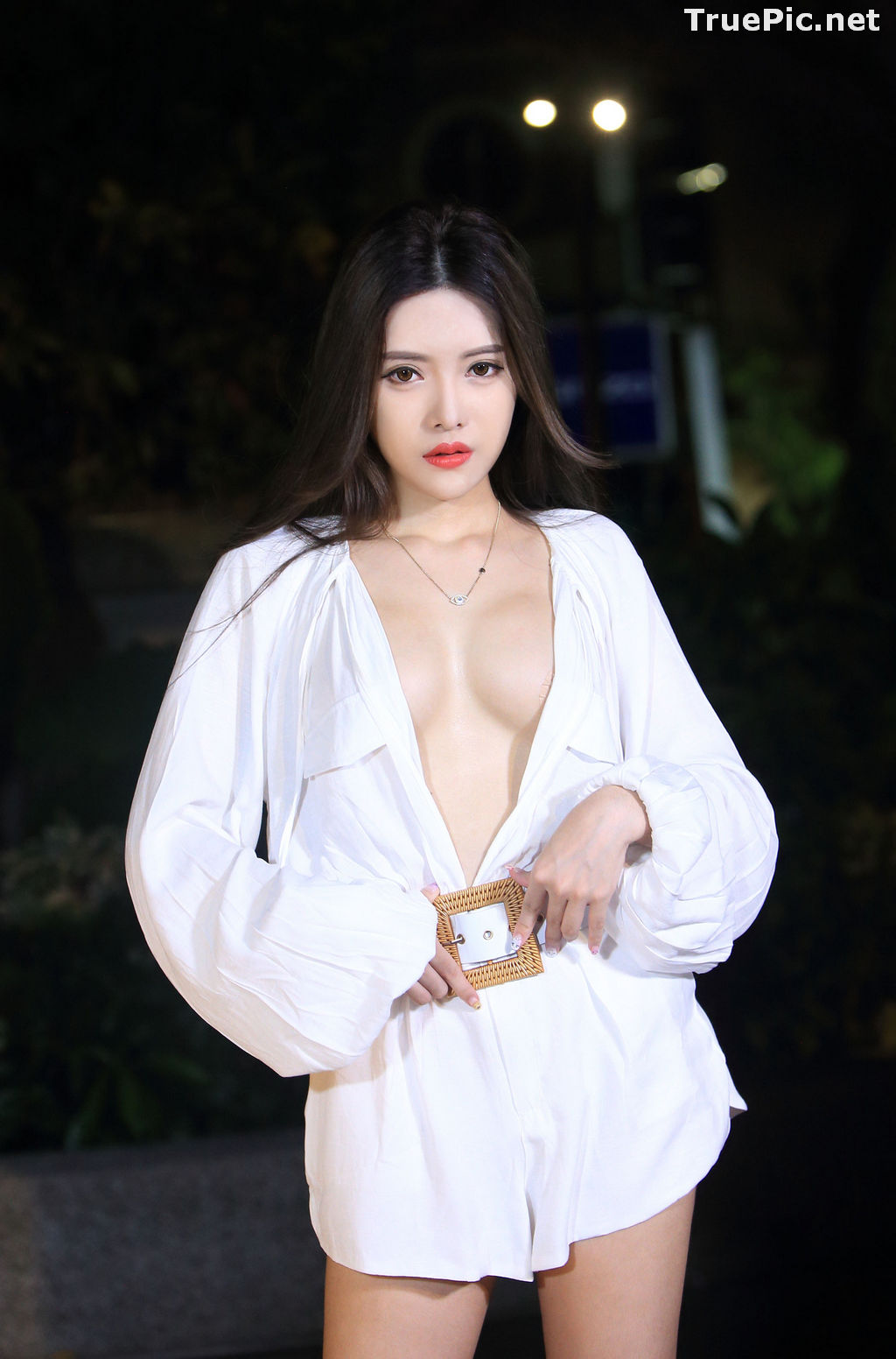 Image Taiwanese Model – 莊舒潔 (ViVi) – Sexy and Pure Baby In Night - TruePic.net - Picture-51