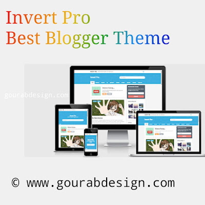 invert pro blogger template