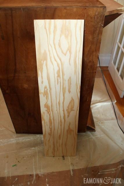 plywood for interior shelf