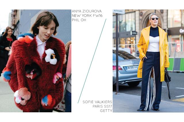 Anya Ziourova Sofie Valkiers Street Style 2016