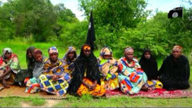 NEW VIDEO: Nigerian women kidnapped by Boko Haram beg government to negotiate their release