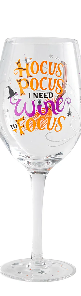 PIER ONE Hocus Pocus Wine Glass
