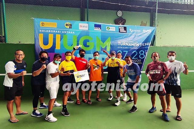 Ketum PP PELTI: Selamat bagi Tim UGM yang Tampil Sebagai Juara Turnamen Tenis Antar Alumni 4 PTN