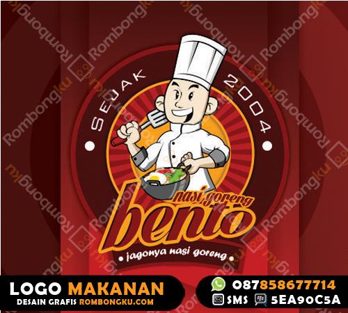 Logo Makanan Logo Makanan Nasi Goreng