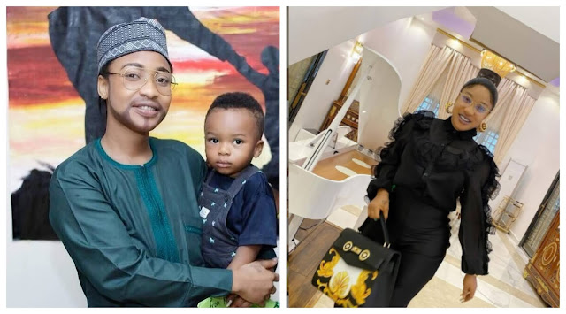 I am momma and papa- Tonto Dikeh shares lovely photos as she celebrates father's day with her son(Photos)
