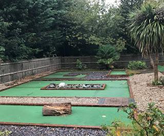 Crazy Golf at Birchington Vale Holiday Park. Photo by Matt Dodd, 12th October 2019