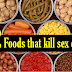 Foods that are killing your sex drive