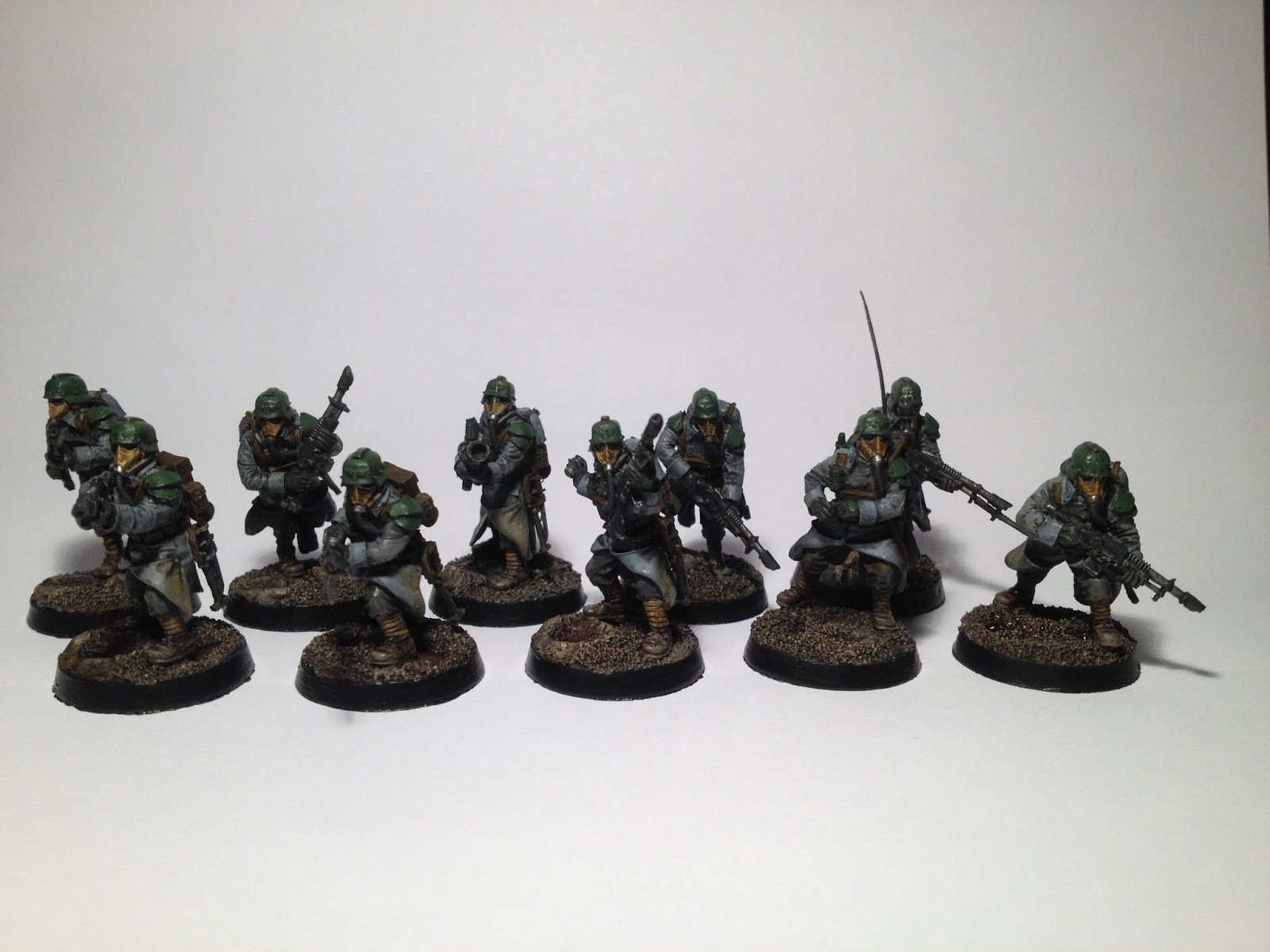 Death Korps of Krieg Squad WIP Front