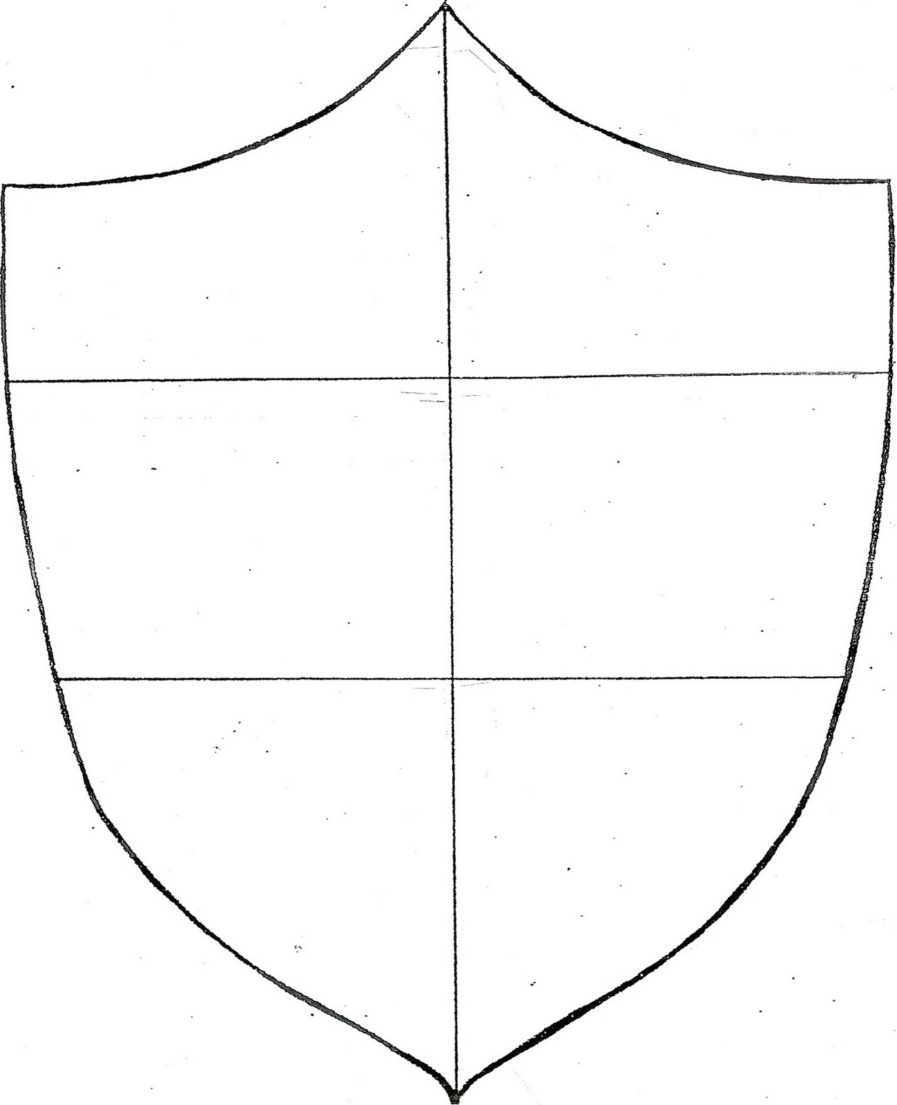 New 632 Family Shield Worksheet