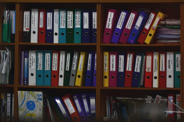 how to organize office files, file organization ideas, how to organize office paperwork,