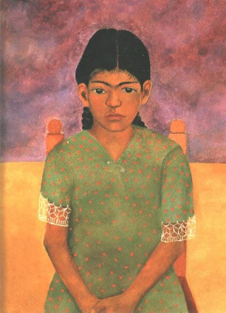 Фрида Кало - портрет Вирджинии (маленькая девочка). 1929