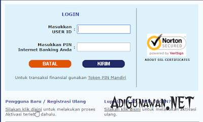 Cara Verifikasi Internet Banking Mandiri via HP