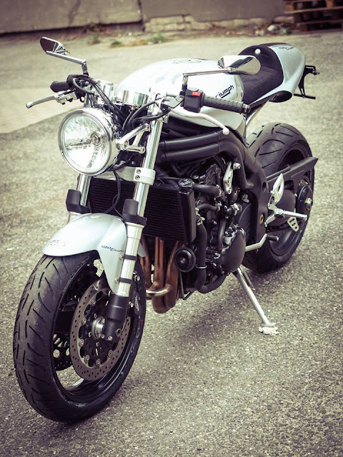 Triumph Speed Triple By Hanse Qustom Hell Kustom