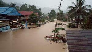 Diduga Pembalakan Hutan, Pitumpanua dan Keera Terendam Air Bah