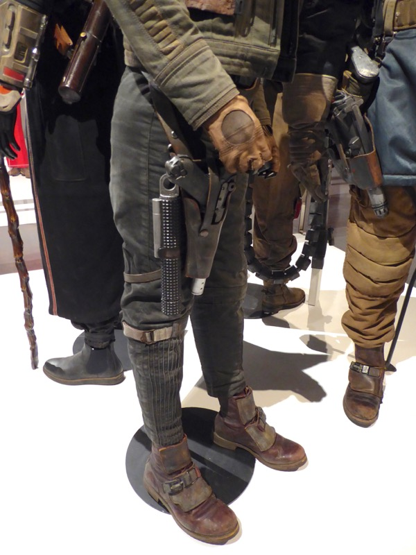 Jyn Erso Rogue One costume trousers boots