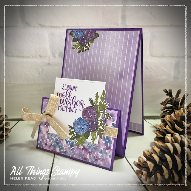 Hydrangea Hill Kit by mail order crafts