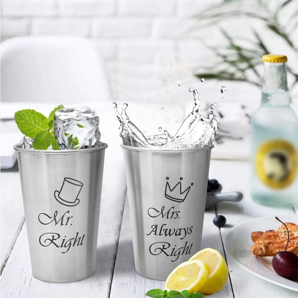 Mr Right and Mrs Always Right Couple Mug