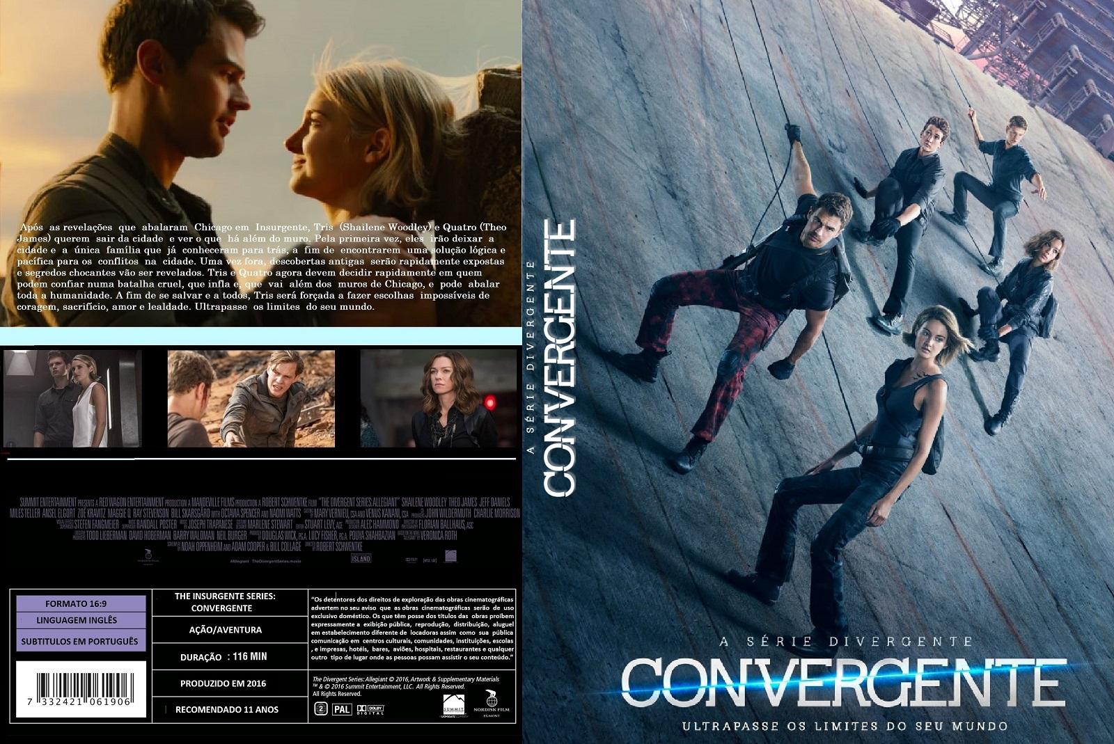 A Série Divergente Convergente DVD-R A 2BSerie 2BDivergente 2BConvergente 2B 25283 2529