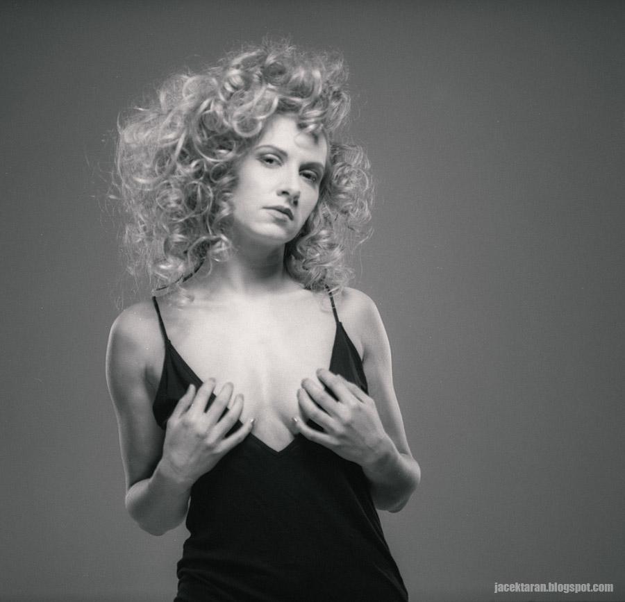 fotografia portretowa, analogowa, kodak tmx100, mamiya rb, jacek taran, klub fryzjerski de arte