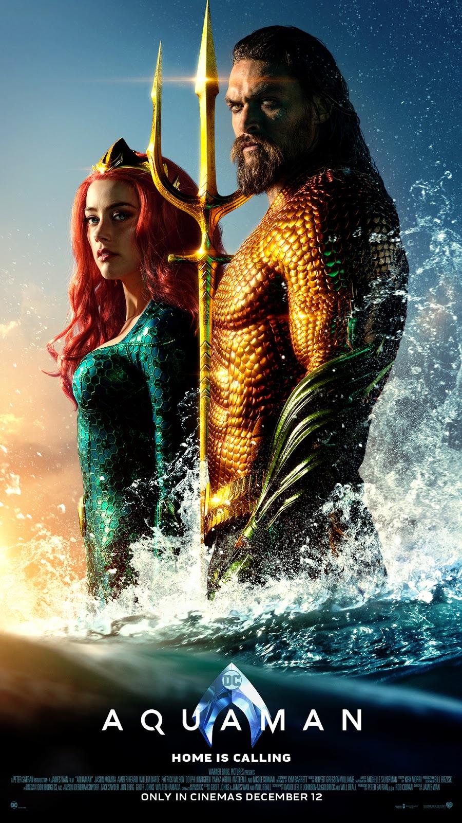 Lemon GreenTea: DC Comic Fans, your calls have been heard as Aquaman