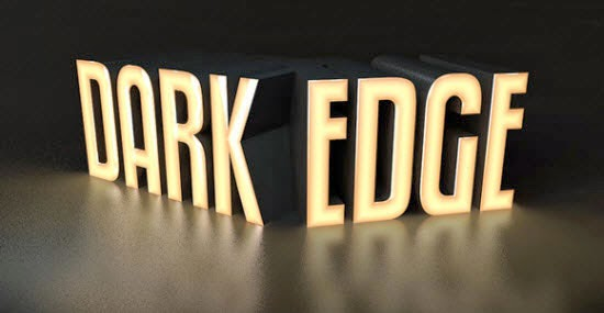 Cinema 4D – Darkened Text Edge Effects Tutorial