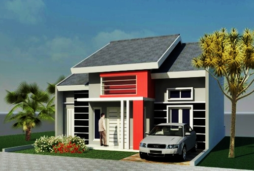 picture of a simple minimalist house 1 floor model 24