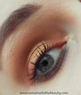 gold brown makeup