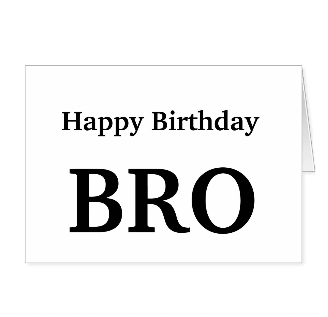 HAPPY BIRTHDAY BROTHER Birthday For Brotherbrother