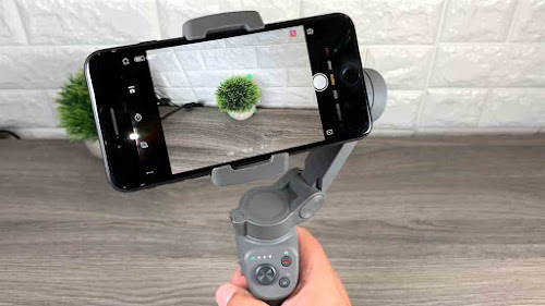 osmo mobile 3 gimbal stabilizer working