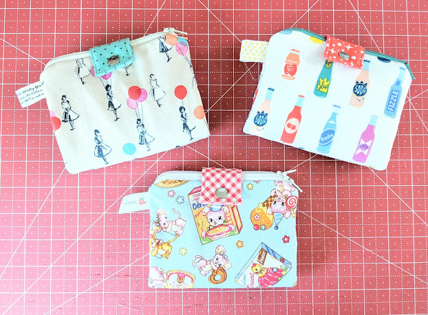 Double-Zip Clutch Travel Sewing Kit from Sew Organized for the Busy Girl by Heidi Staples of Fabric Mutt