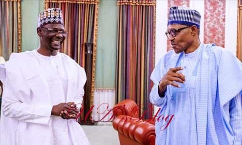 Sanusi: Buhari, Nasarawa gov meet
