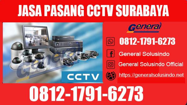 Jasa Pasang CCTV Wonocolo Surabaya