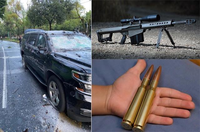 El Barrte. 50 , así es el rifle preferido de Sicarios en México, de uso para francotirador pero lo usan para combate a corta distancia