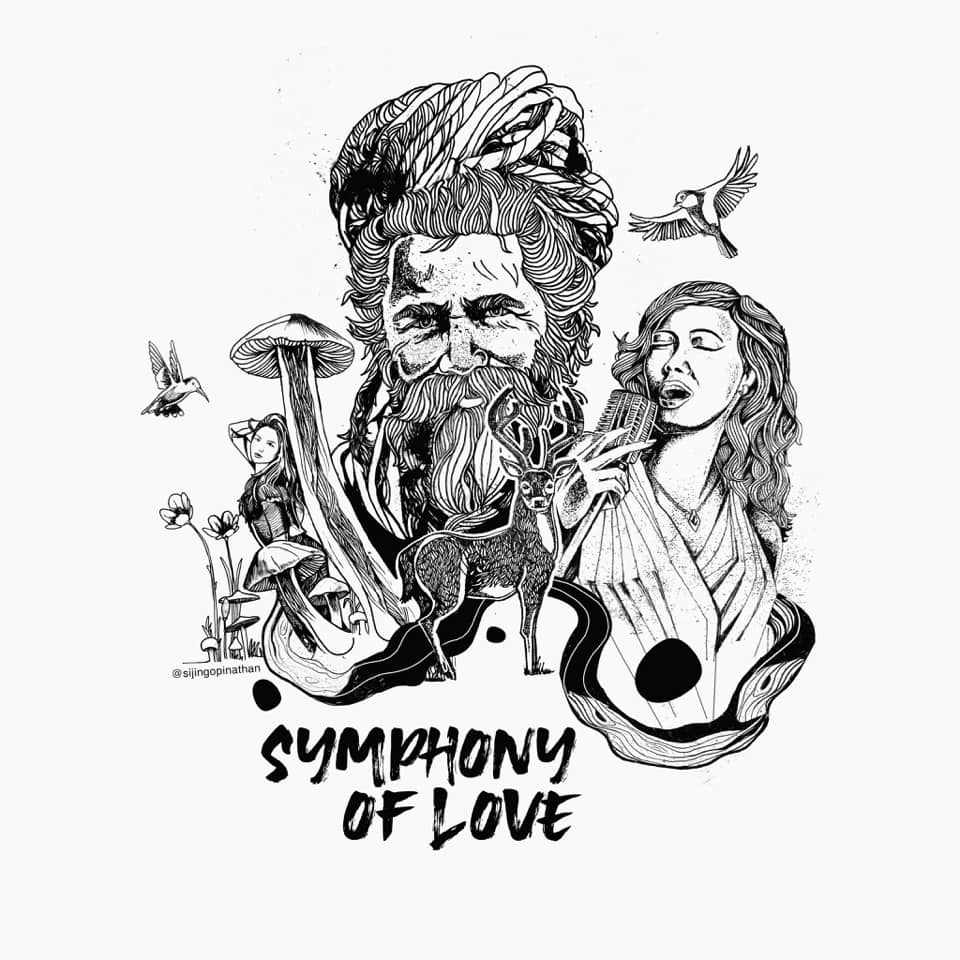 symphony of love - doodle art