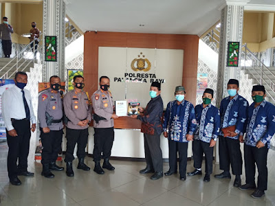 LDII Bersama Polres Palangkaraya Sepakat Menjadikan ZONA HIJAU COVID-19