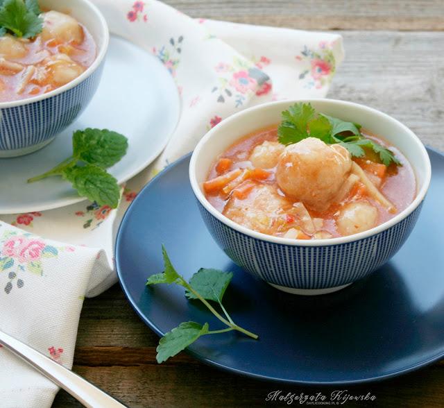 danie jednogarnkowe, ryba na obiad, dorsz, klopsy rybne, pulpety z dorsza, daylicooking, Małgorzata Kijowska