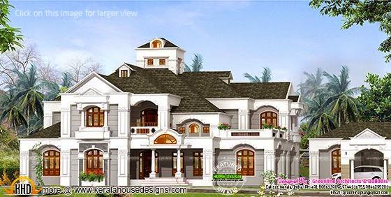 Luxury villa in Kerala