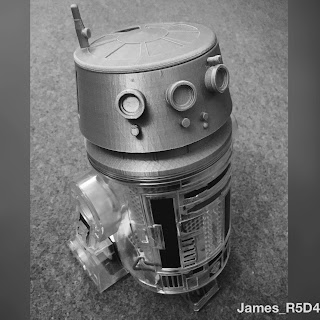 Littlebits R2-D2, littlebits R5-D4, 3D printing